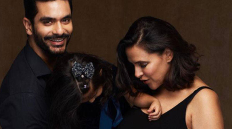 Neha Dhupia and Angad Bedi reveal why they don't show Mehr's face in photos