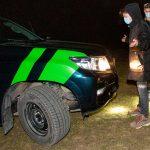 On Belarus border, EU guards patrol amid migrant 'crisis'