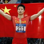 China's Su blasts into Olympic 100m final, Bromell out