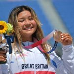 Britain's Brown, 13, pursues record-breaking gold medal