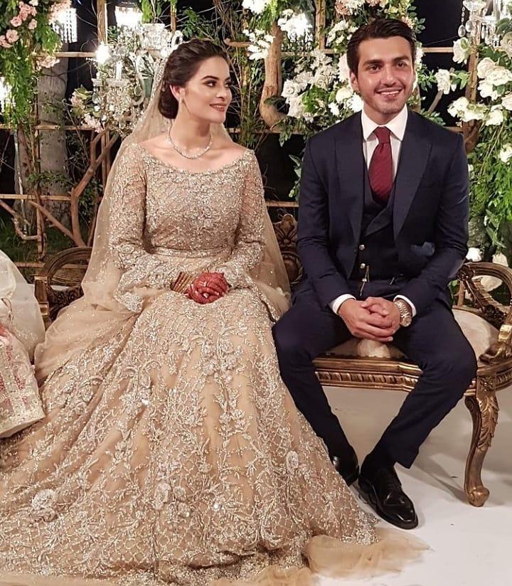 Mohsin Ikram and Minal Khan Walima3