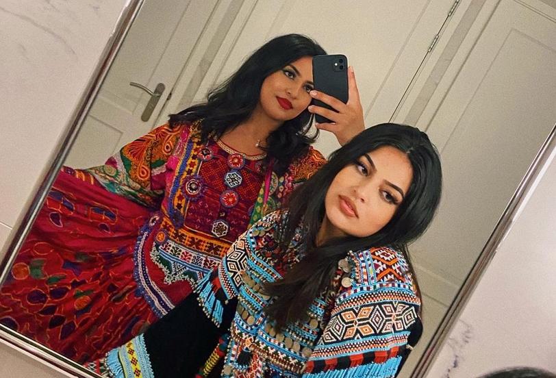 Afghan girls overseas