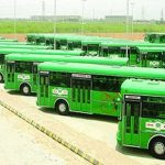 Pakistan receives first consignment of buses for Karachi BRT project