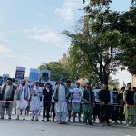 Hundreds protest in Kabul to demand release of Afghan foreign reserves