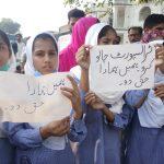 Parents, students protest against govt's decision to end free transportation