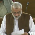 Abdul Rehman Khetran presented the no-confidence motion against CM Balochistan