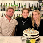 Reese Witherspoon and Ryan reunite to celebrate Deacon's 18th birthday